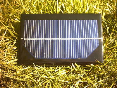 9V 1 Watt 110Ma Resin Solar Panel,Charges 6 Volt Battery In Childs Electric Car