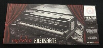 Freiwild Freikarte - Ticket aus Flightcase Box - Unplugged Arena Show 2013
