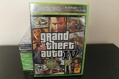 Grand Theft Auto IV  (Xbox 360, 2008) *New/Factory Sealed