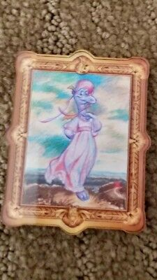 Disney Parks Epcot Figment Magnet Pink Lady New Brush Masters Art Festival