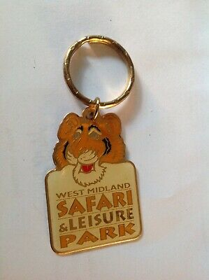 Vintage Keyring West Midlands Safari &  Leisure Park