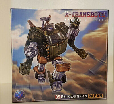 X-Transbots Paean Transformers Masterpiece Hoist 3rd-Party, MIB