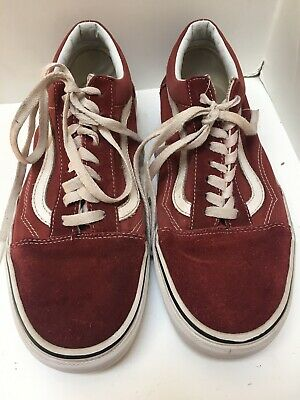 VANS Old Skool Hot Sauce & True White Womens Shoes RUST