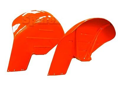 "FENDER WING SET (10"" drop) FIT MASSEY FERGUSON 35 65 135 TRACTORS"