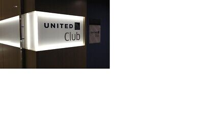 Two Passes for United Club One Time Pass -- Expires July 10, 2020