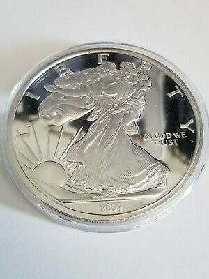USA Walking Liberty 2009 Half Pound 1/2 lb .999 fine silver Large Silver Dollar