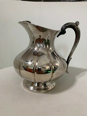 Wallace Bros Silver  Silverplate Water Pitcher