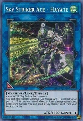 *** Sky Striker Ace - Hayate *** Prismatic Secret Rare Mp19-En109 Yugioh!