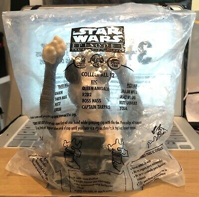 New 1999 Star Wars Episode 1 Sebulba Taco Bell/Kfc/Pizza Hut Cup Topper Sealed