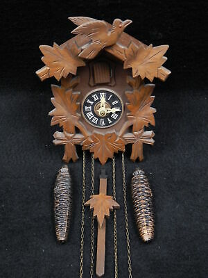 Vintage Black Forest Regula Cuckoo Clock German Germany Running Well