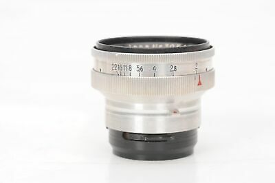 Carl Zeiss 50mm f2 T Sonnar Lens 50/2 for Contax Rangefinder                #294