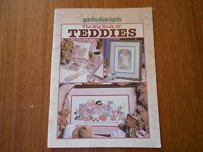 The Big Book Of Teddies  In Cross Stitch Book - #24516 - Good Condition