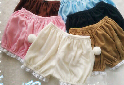 Sweet Womens Lolita Girls Bloomers Warm Winter Underwear Safety Pants Shorts Hot
