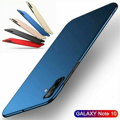 For Samsung Galaxy Note 10 Plus Ultra Slim Matte Hard Back PC Protect Cover Case