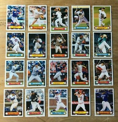 2019 Topps Montgomery Club Set #3 Complete 20 Card Set Guerrero Trout Alonso RCs