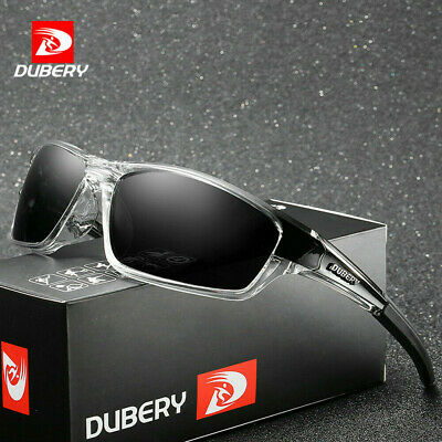 DUBERY Sport Polarized Sunglasses Fashion Outdoor Riding Fishing Goggles Glasses
