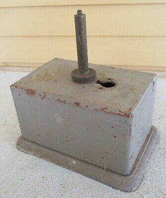 Queensland Railways QR Electric Staff Instrument Bell Box - Made in QR Workshops
