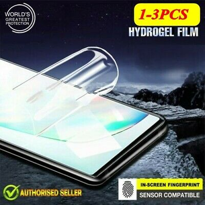 For Samsung Galaxy Note 10 Plus 5G Hydrogel Full Coverage Screen Protector Guard