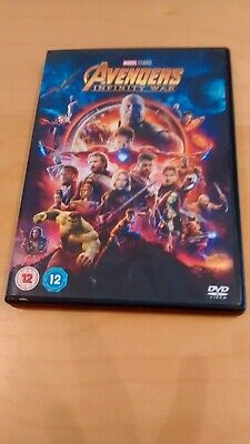 Marvel Avengers Infinity War DVD Watched Once