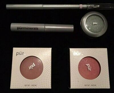 """ PUR MINERALS "" Make up - Mascara, Eye Shadow, Eye Pencil, 2 x Blush - BNIB"