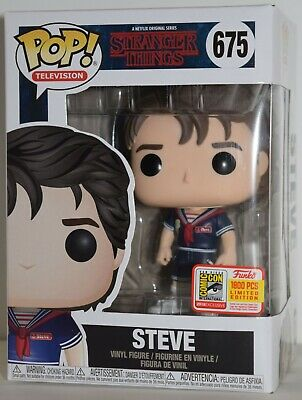Funko Pop Stranger Things Fundays 2018 Exclusive Steve - Scoops Ahoy 1800 LE NM