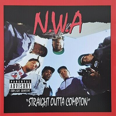 N.w.a. - Efil4Zaggin - Straight Outta Compton 20Th - Oz Hip Hop 2Cd 2007 Dr Dre