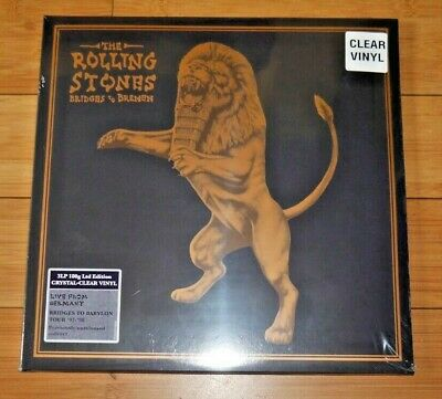 The Rolling Stones Bridges To Bremen Crystal Clear Vinyl 3Lp Rare New / Sealed