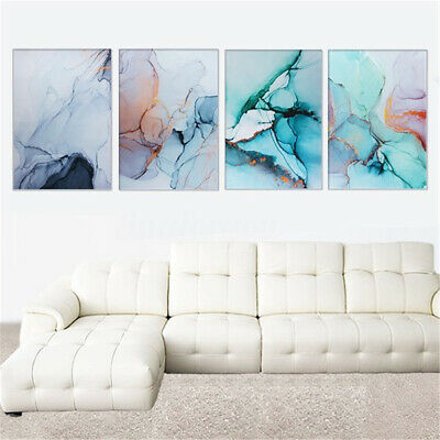 60*80cm Marble Texture Canvas Poster Abstract Wall Art Print Home Decor Picture