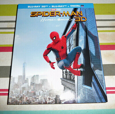 Blu Ray Spider-Man Homecoming 3D + 2D