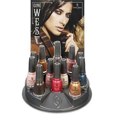 China Glaze Gone West 2019 Nail Polish Collection - Complete Set (12 x 14ml)