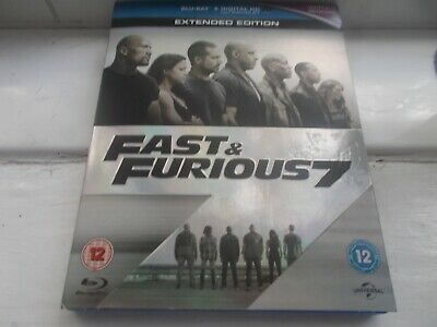 Fast And Furious 7 Blu Ray