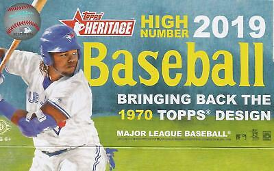 2019 Heritage High Number Base Set 501-700 Rookie Loaded: Alonso Tatis Guerrero