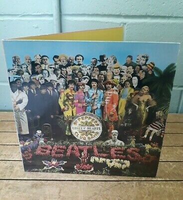 The Beatles - Sgt Peppers Lonely Hearts Club Band 70s VG+VG+ reissue gatefold B3