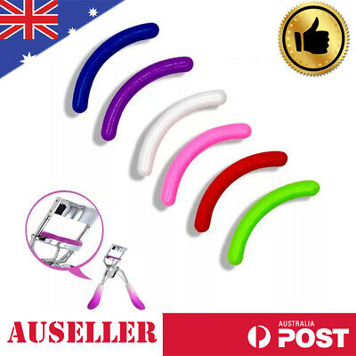 5x Refill Rubber Pads Make Up Tool Replacement Eyelash Curler Circle Cosmetic AU