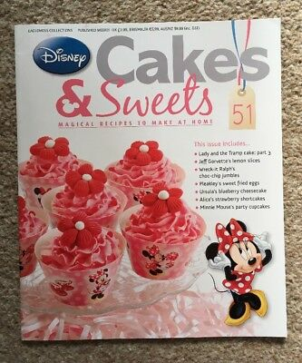 Disney Cakes & Sweets Magazine Issue 51 (MAG ONLY)