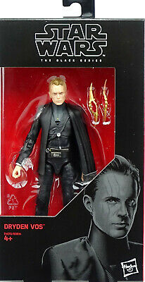 """Star Wars The Black Series Dryden Vos -Solo A Star Wars Story 6"""" Inch Hasbro #79"""