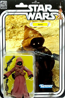 """STAR WARS 40th ANNIVERSARY COLLECTION JAWA """"A NEW HOPE"""" 6"""" INCH PASSED HASBRO"""
