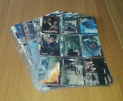 James Bond Tomorrow Never Dies Trading Cards 1-90 By Inkworks 1997