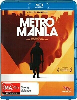 Metro Manila (2015, Blu-ray NEUF) (RÉGION ALL)