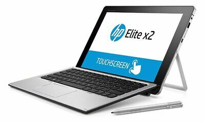 "Almost-New HP Elite x2 1012 G1 2-in-1 Notebook Laptop - 12"" Touchscreen, Win10"