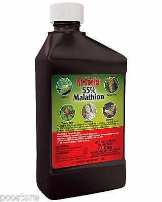 Hi-yield Malathion 55% Insecticida Spray 473ml