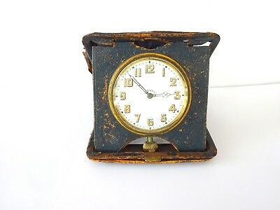 Antique, Swiss Travel Clock, Brevet 33236 Movement 8 Day Perfect Working Order