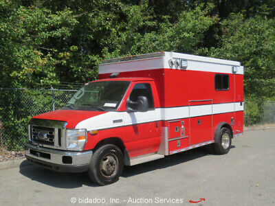 2009 Ford E-450  2009 Ford E450 Medical Transport Shuttle Bus 6.0L Turbo Diesel V8 Auto A/C