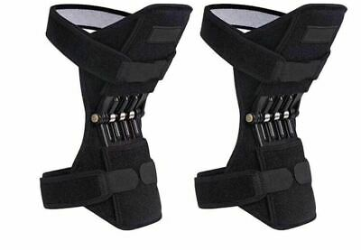 1pair Powerful Rebound Spring Force Power Knee Stabilizer Pad Lift Joint Support