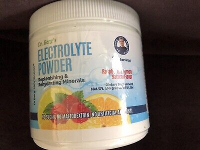 Dr. Berg's Electrolyte Powder High Energy Replenish Rejuvenate Your Cells