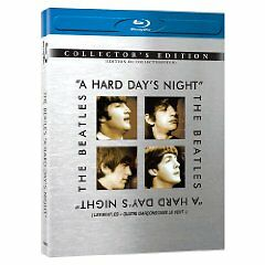 The Beatles A Hard Day's Night (1964) Blu-Ray Collector's Ed Rare Bilingual