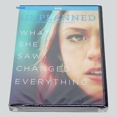 Unplanned DVD Brand New sealed Widescreen Free Fast Shipping