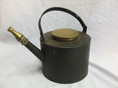 Old Steam Train Carriage Light  Filler Container