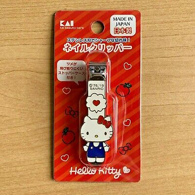 SANRIO HELLO KITTY CUTE PINK STAINLESS COLLECTIBLE SCISSOR BY KAI BEAUTY CARE