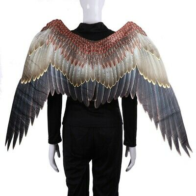 3D Angel Wings Cosplay Props Adult Feather Wings Halloween Party Costume Decor